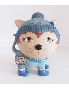 Hucha Gato Azul