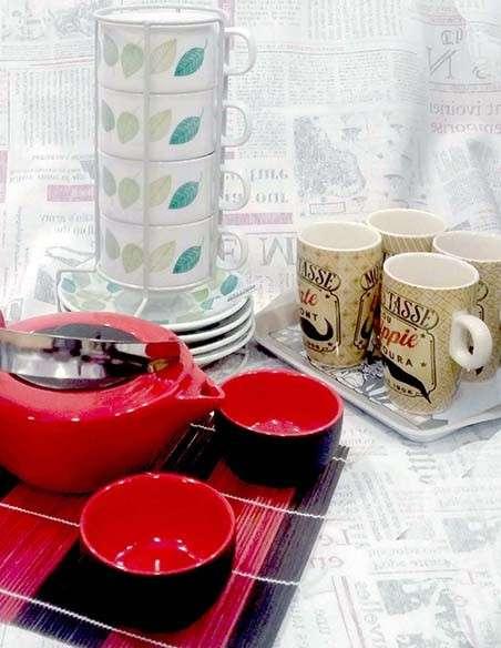 Juegos de té, café, tazas...