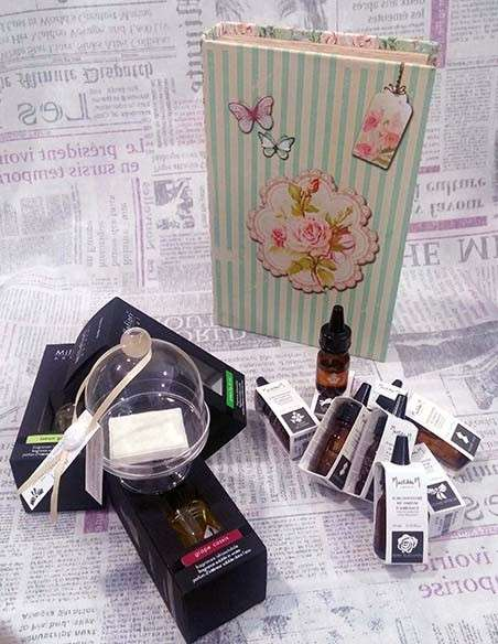 Aceites perfumados